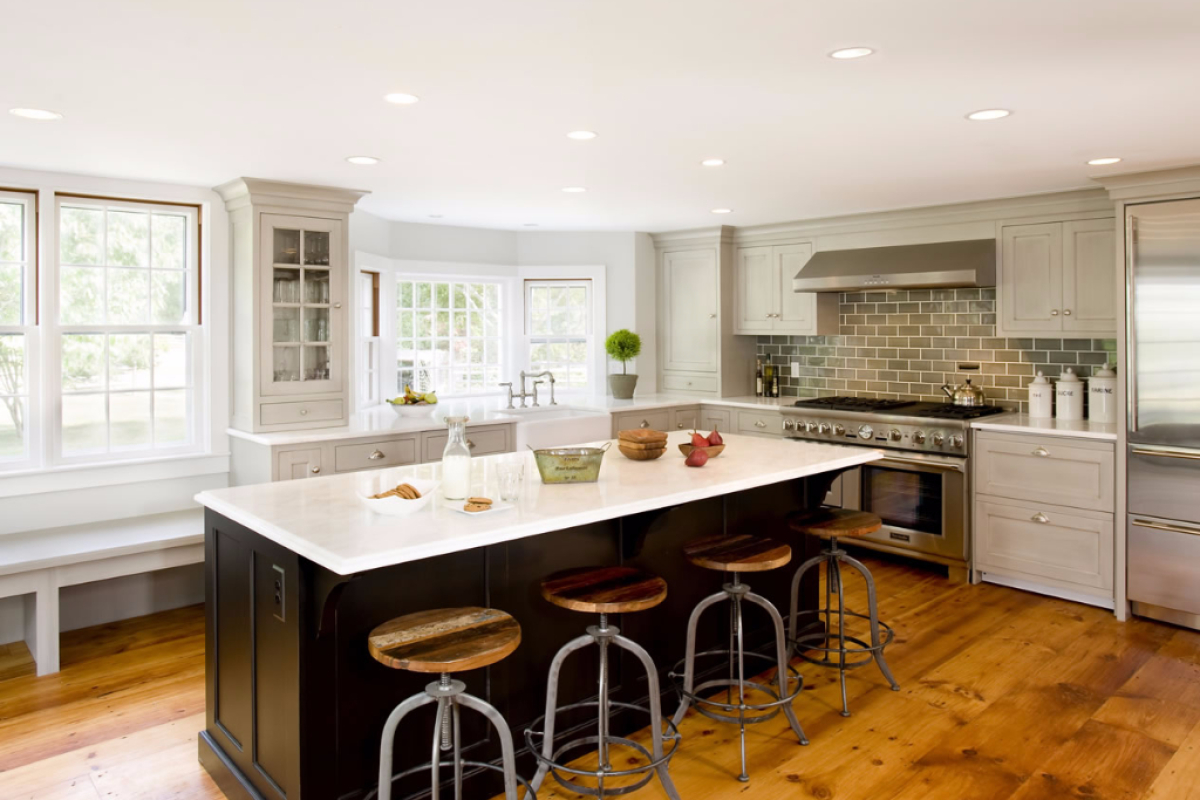 Rustic Kitchen Hingham Menu Topnotch Design Studio Massachusetts Kitchen Designs